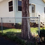 4-Foot Residential Chain Link Fence