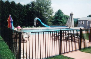 48-Inch Ornamental Aluminum Sentry Fence (Pool Code)