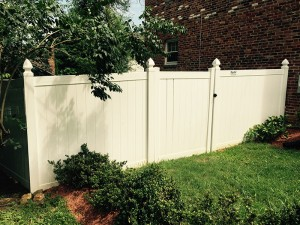 6 Foot Vinyl Tongue and Groove Privacy Fence