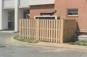 Alternate Board on Board Privacy Wood Fence