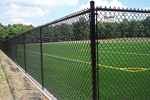 Athletic Field Chain Link Fence