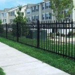 Avalon Ornamental Aluminum Fence