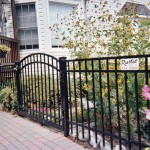 Black Ornamental ELBA Aluminum Fence