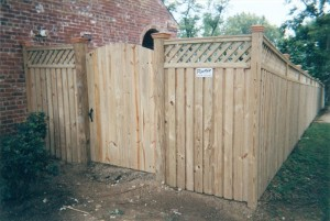 Board on Batten Privacy Wood Fence