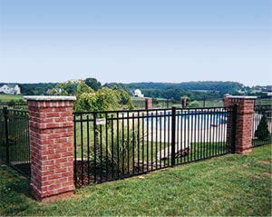 Guardian Doria Ornamental Aluminum Fence