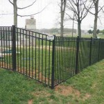 Guardian ELBA Ornamental Aluminum Fence with Gate