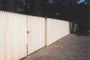 Stockade Double Gate (Outside View)